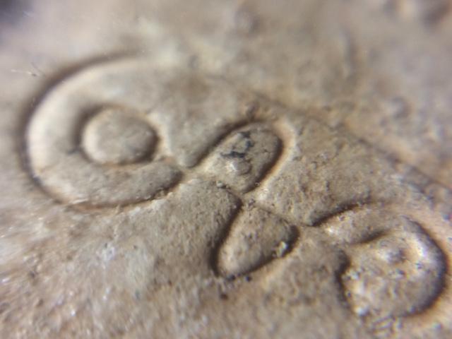 Close Up Macro of Muan Sarn Powders of Roop Muean Nang Dtang LP Moon