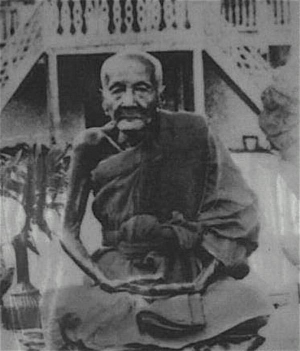 Luang Por Muang Jantasaro of Wat Ban Tuan