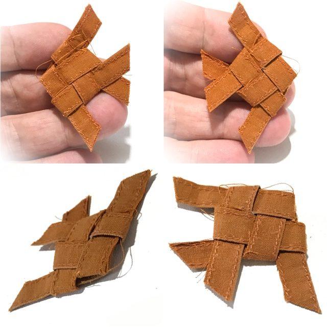 Pla Tapian Barbfish Amulet Woven Civara Monk Robe LP Rian